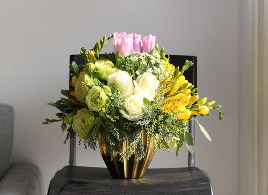 Fresh spring flowers 달콤한 봄빛 향기 **화병 변경됨***