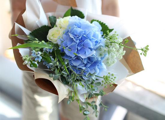 [서울무료배송, 이외지역 추가배송비] Blue and white