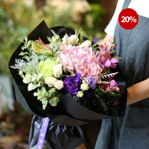 Flowers of love다양한 매력의 꽃다발