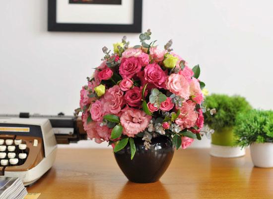 [서울배송]꽃의 여왕 장미 - Black & Pink