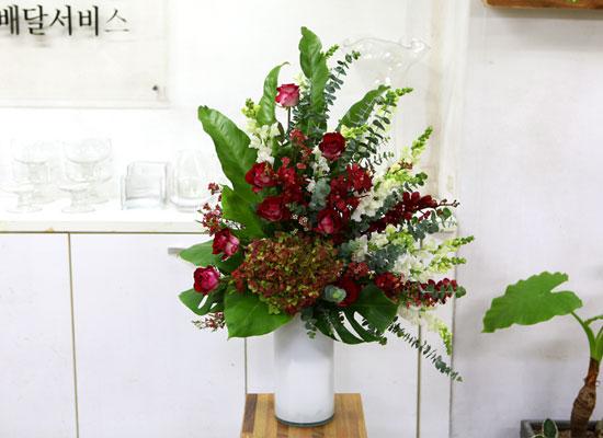 [서울배송] Art in Flowers - Triangle Shape