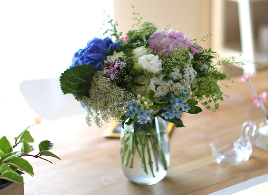 Ways to Freshen Your Home - Arrangements in living of Four Seasons