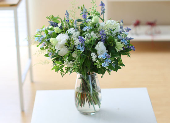 Ways to Freshen Your Home - white and white and blue