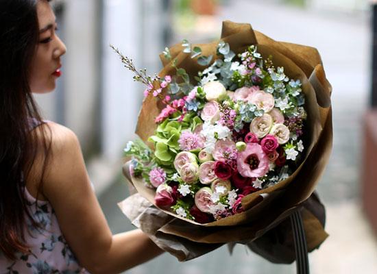 Big Size Bouquet - Pink Perfume