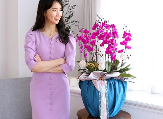 정성이 느껴지는 보자기 포장 - 만천홍(대)